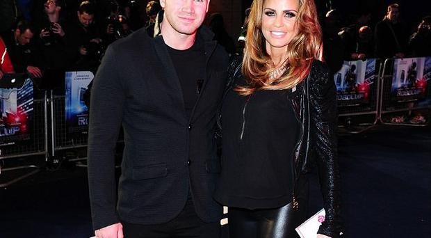 Katie Price is supporting Kieran Hayler through his treatment