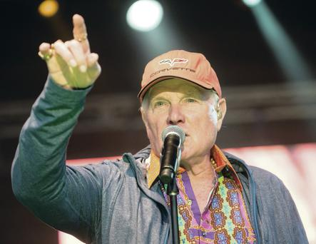 Beach Boys lead vocalist and founder member Mike Love