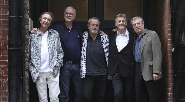 The new Monty Python show was generally well received by critics