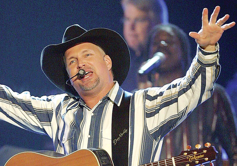 Country star Garth Brooks