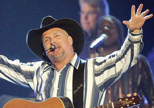 Five or nothing: Country star Garth Brooks is scheduled to play five-in-row concerts at Croke Park