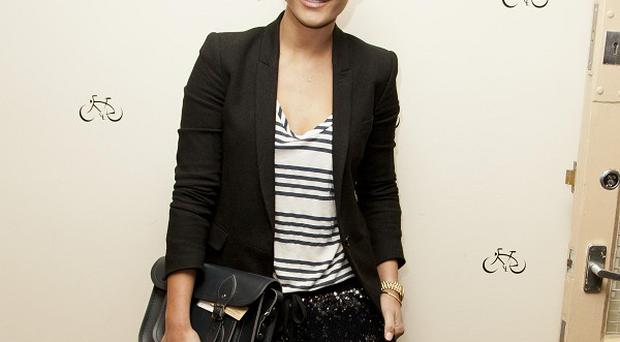 Frankie Sandford has enjoyed a second hen do