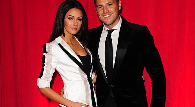 Michelle Keegan and Mark Wright were guests at Leah Wright's wedding