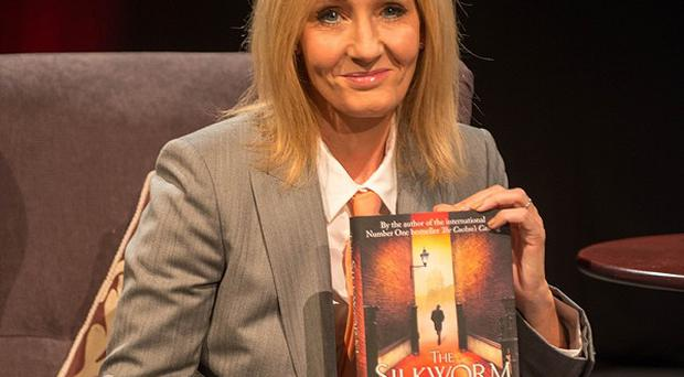 JK Rowling at the Theakstons Old Peculier Crime Writing Festival in Harrogate