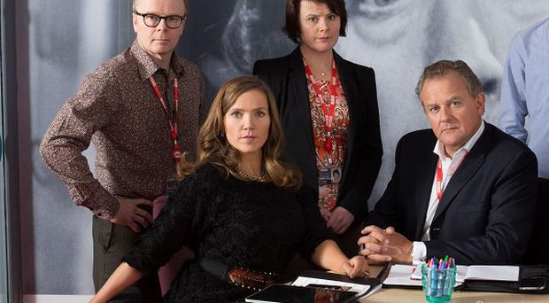 Jessica Hynes loves playing pouty PR Siobhan Sharpe in W1A