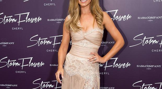 Cheryl Cole at the launch of her new perfume