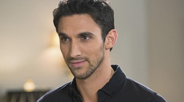 Dominic Adams plays bodyguard Tony Bishara in Devious Maids