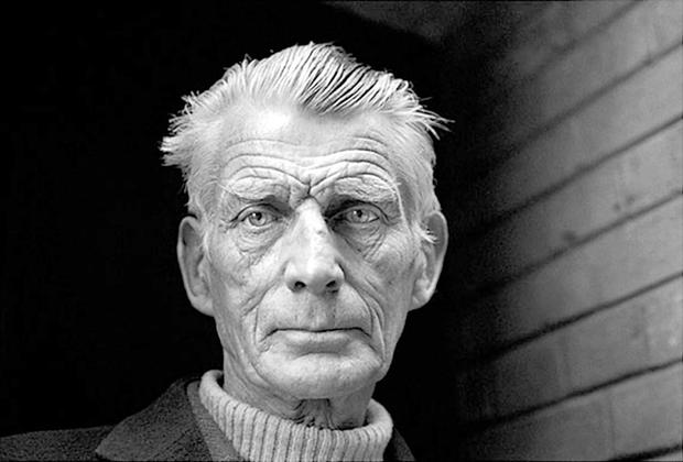 Nobel Prize-winning writer Samuel Beckett