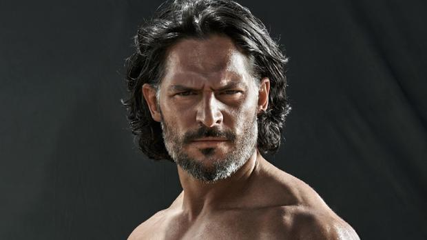 Joe Manganiello says he works hard to look good as he posed for Men's Health magazine