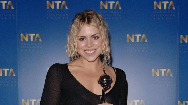 Billie Piper has been involved in a collision with a cyclist, it is reported