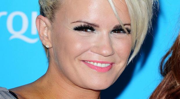 Kerry Katona said she has been struggling with shoulder pain