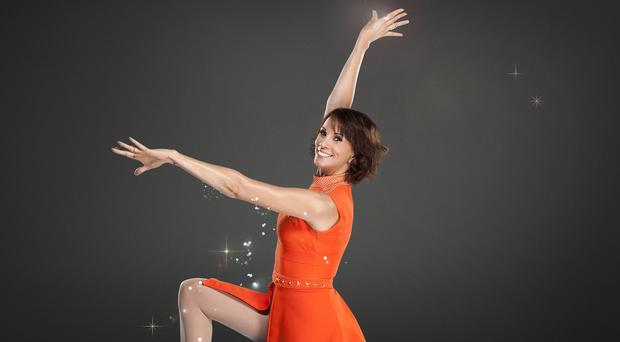 Andrea McLean is the first to leave Tumble (BBC/PA)