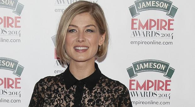 Rosamund Pike says voicing Lady Penelope for Thunderbirds Are Go! is a 'treat'