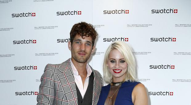 Kimberly Wyatt with Max Rogers
