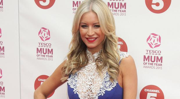 Denise Van Outen is dating trader Eddie Boxshall
