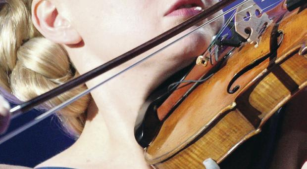 Gifted Finnish violinist Elina Vahala ripped into the wild gypsy melodies with evident relish