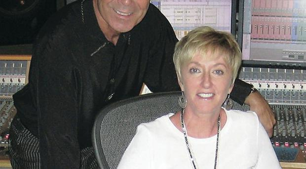 Sir Cliff Richard with Majella O'Donnell