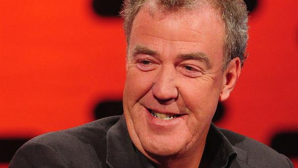 Jeremy Clarkson presents Top Gear for the BBC