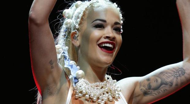 Rita Ora could be taking her place in The Voice's famous spinning chairs