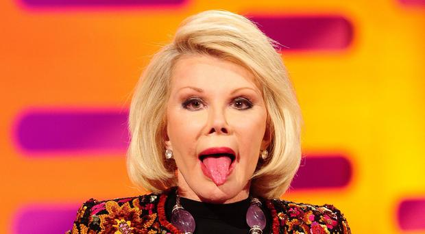 Joan Rivers is reported to be in a