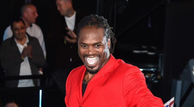 Audley Harrison has been reprimanded for his use of potentially