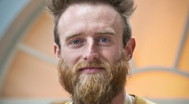 Iain Watters became the fourth baker to leave The Great British Bake Off after throwing his Baked Alaska in the bin during the contest (BBC/PA)