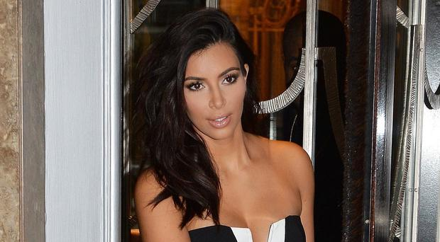 Kim Kardashian West has been spotted leaving Claridge's Hotel in London