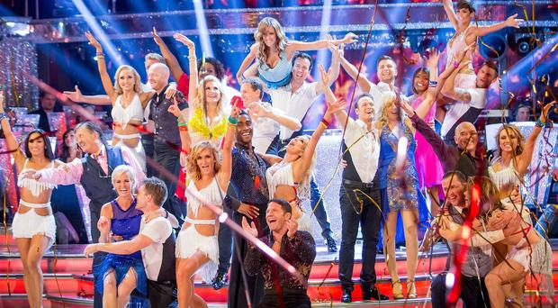 The Strictly Come Dancing launch show pulled in the viewers for the BBC
