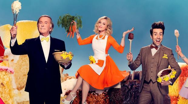 Sir Terry Wogan, Fearne Cotton and Nick Grimshaw are among the stars fronting the BBC Children In Need baking campaign