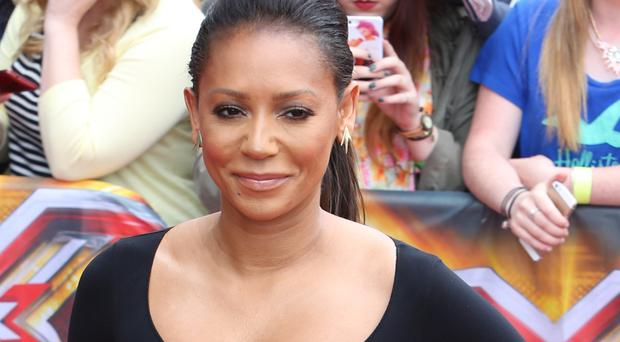 Mel B hired a mobile zoo for her daughter's birthday