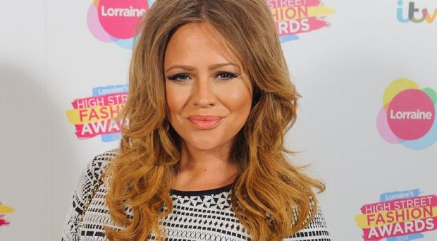 Kimberley Walsh has become a mum