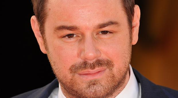 Danny Dyer won a gong at the TV Choice Awards