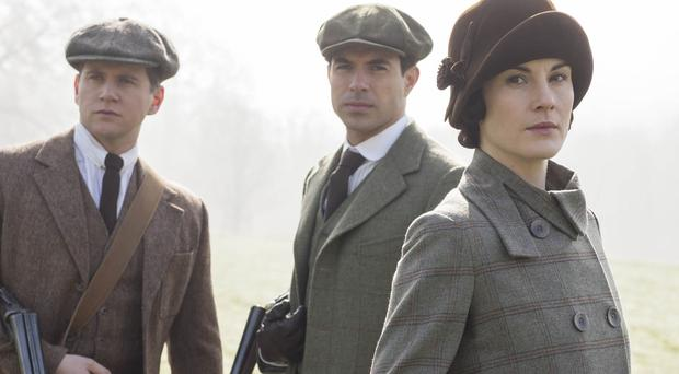 Downton Abbey's Lady Mary Crawley is considering taking a lover