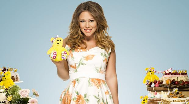 Kimberley Walsh wants people to bake for BBC Children in Need this year (BBC/PA)