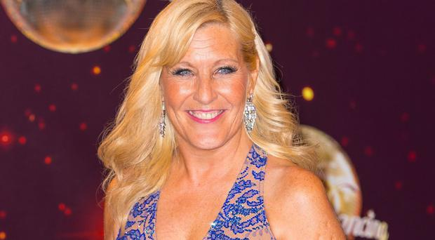 Jennifer Gibney says her husband Brendan O'Carroll is looking forward to seeing her in Strictly Come Dancing
