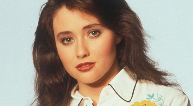 Shannen Doherty found fame in Beverly Hills 90210