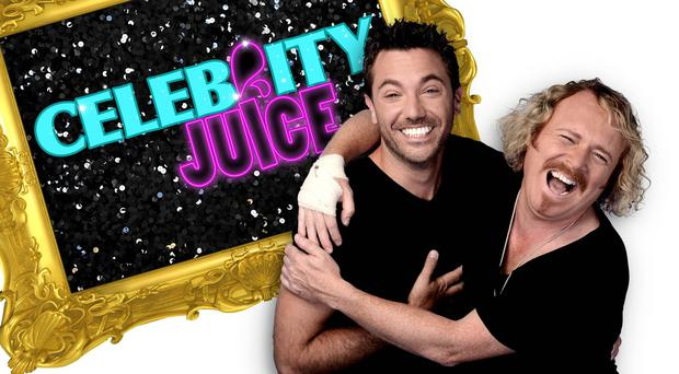 Gino D'Acampo is filling in for Holly Willoughby on Keith Lemon's Celebrity Juice