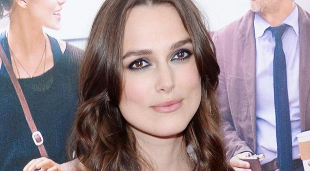 Keira Knightley says she is less neurotic now