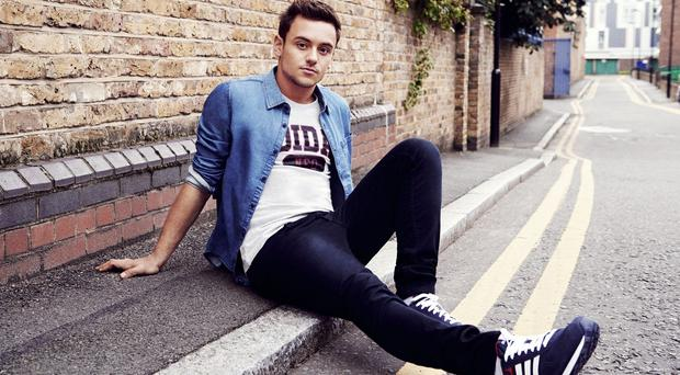 Tom Daley has been modelling for Adidas