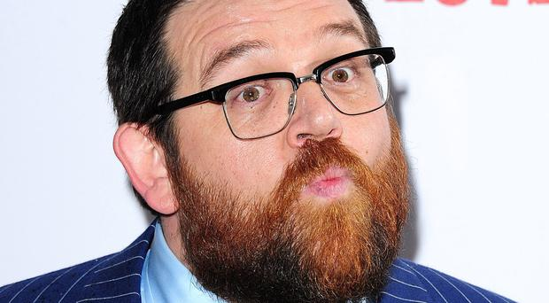 Nick Frost is delighted to have a guest role in Doctor Who