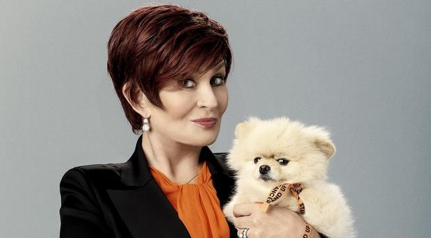 Sharon Osbourne shows her support for Stand Up To Cancer