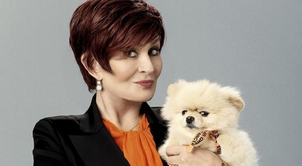 Sharon Osbourne is standing up to cancer