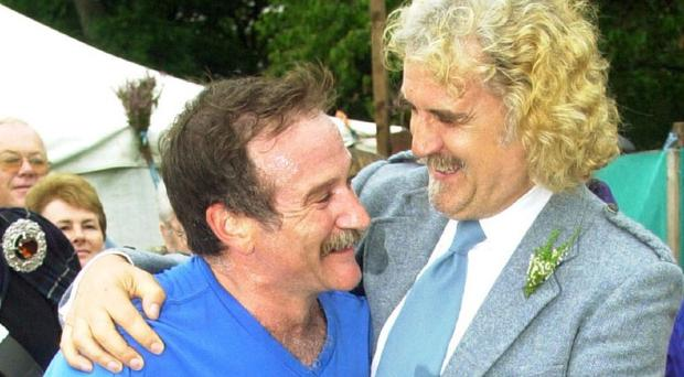 Billy Connolly and fellow comedian Robin Williams were close friends