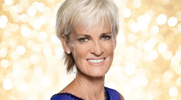 Judy Murray says it's difficult for her to let Anton Du Beke take control on the dancefloor