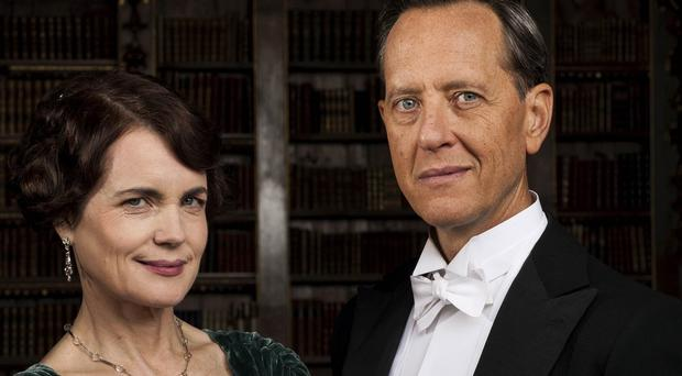 Elizabeth McGovern says Downton Abbey's Lady Grantham could be tested in her marriage when art historian Simon Bricker (Richard E Grant) arrives