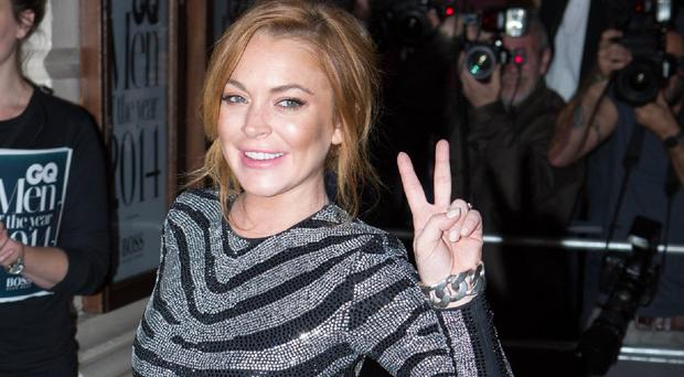 Lindsay Lohan took to the stage in David Mamet play Speed-The-Plow