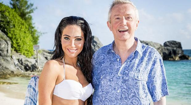 Tulisa is back to help out Louis Walsh for The X Factor's judges' houses
