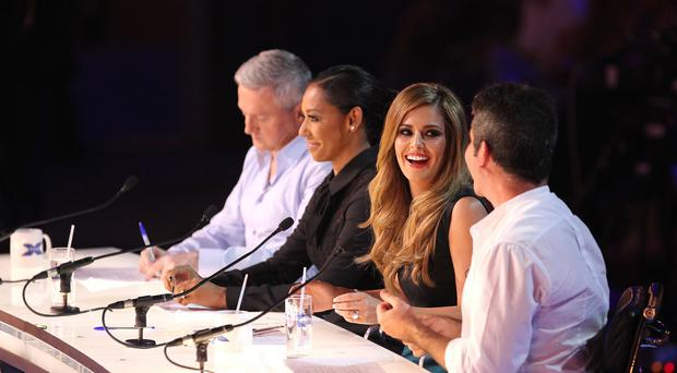 The X Factor judges (Picture courtesy of SYCO/Thames TV)