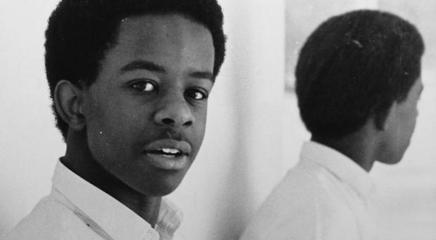 Adrian Lester, aged 16, as stars dusted off their photo albums to share decades-old pictures from their younger days for charity (Children with Cancer UK /PA)