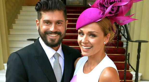 Katherine Jenkins and Andrew Levitas have married at Hampton Court Palace